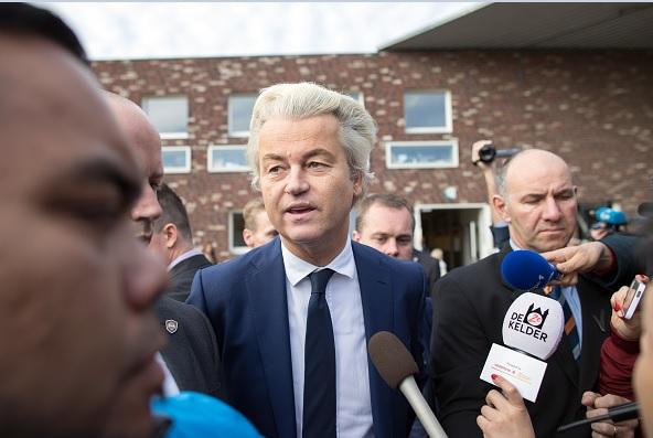 Geert Wilders, líder del Partido de la Libertad (PVV) en Holanda.