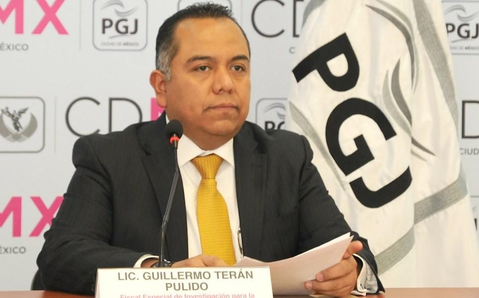 Guillermo Terán Pulido, fiscal especial de Investigación para la Atención del Delito de Secuestro de la PGJ de la CDMX. (Twitter: @PGJDF_CDMX)
