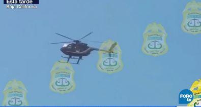 En el helicóptero viajaban cuatro tripulantes, dos policías y dos rescatistas (Forotv)