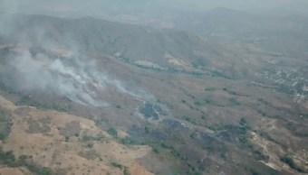 Cinco incendios forestales permanecen activos en los municipios de: Tonalá, Arriaga, Ixtapa y dos en Jiquipilas. (Twitter @pcivilchiapas)