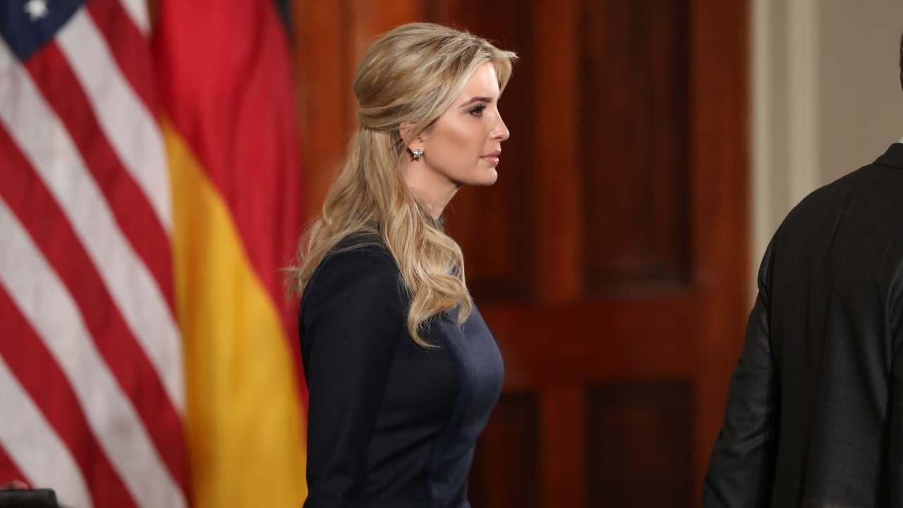 Ivanka Trump, hija del presidente de Estados Unidos, Donald Trump.
