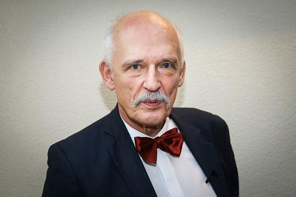 Janusz Korwin-Mikke enfrenta otras sanciones además de la suspensión del Parlamento europeo.