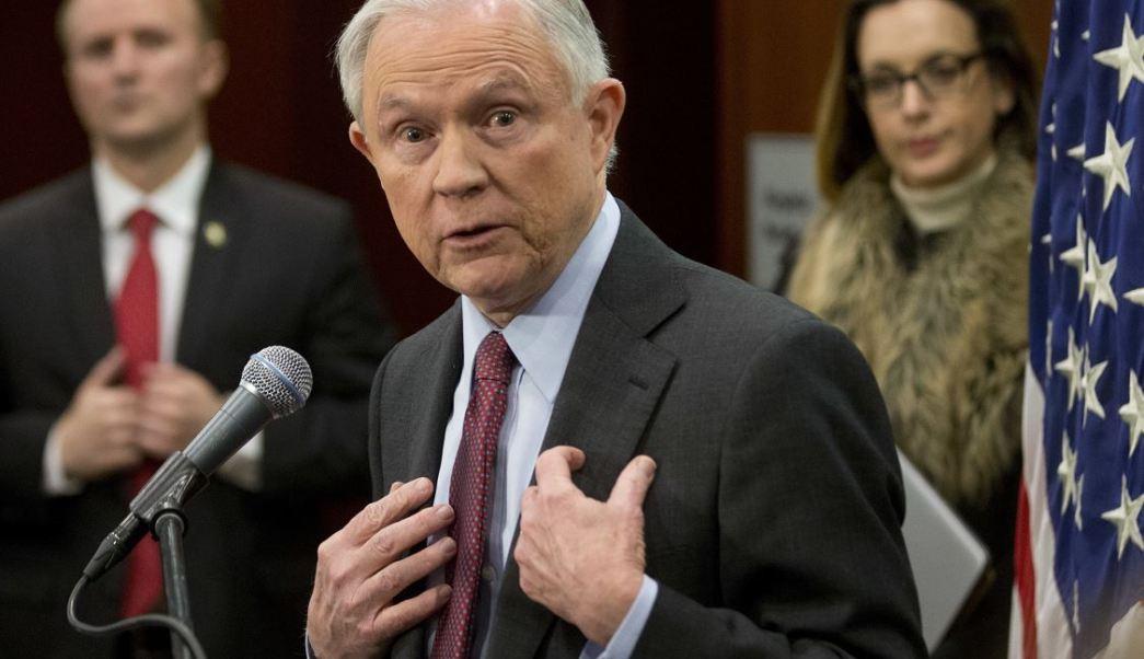 Jeff Sessions, fiscal general de Estados Unidos (AP)