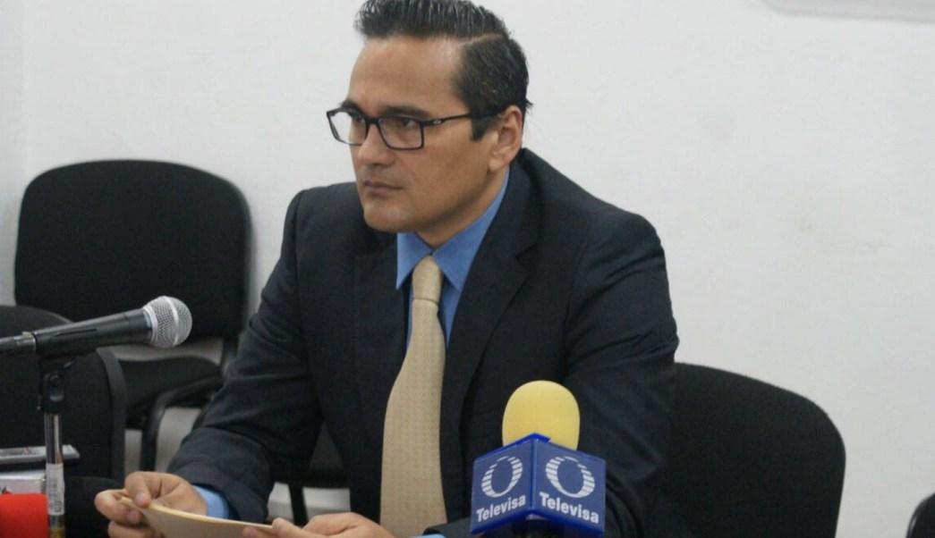 Jorge Winckler Ortiz, fiscal general de Veracruz. (Twitter: @FGE_Veracruz)