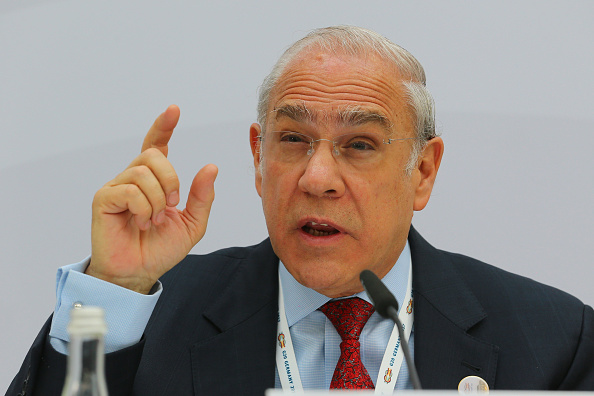 José Ángel Gurría, secretario general de la OCDE, en Baden Baden, Alemania. (Getty Images)