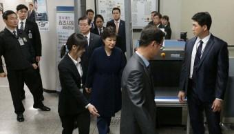 La expresidenta de Corea del Sur, Park Geun-hye, fue destituida por estar vinculada en casos de corrupción.
