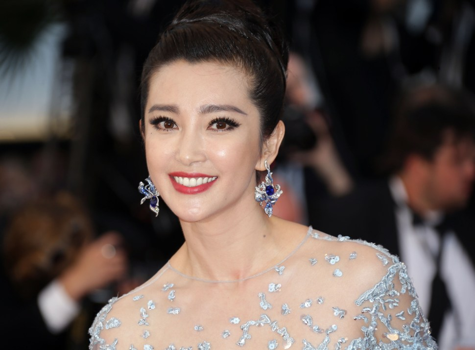 Li Bingbing, actriz china (AP, archivo)