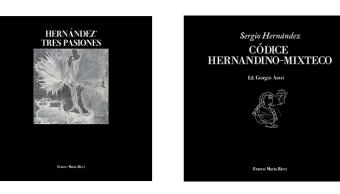 En la Ciudad de México, el artista oaxaqueño Sergio Hernández presentó los libros Hernández Tres Pasiones y El Códice Hernandino-Mixteco. (sergiohernandez.com)