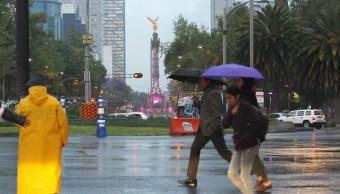 El Gobierno de la Ciudad de México emitió recomendaciones ante la presencia de lluvia en la capital del país (Notimex/Archivo)