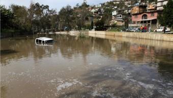 Lluvias en Tijuana provocan varios incidentes; las autoridades alertan daño grave en el sistema de drenaje municipal (NTX, archivo)