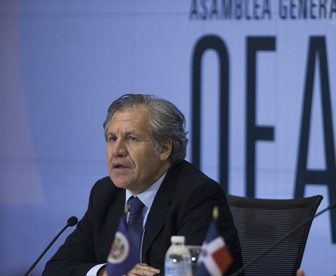 Luis Almagro, secretario general de la Organización de Estados Americanos (OEA). (AP, archivo)