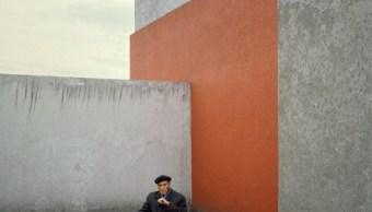 Luis Barragán en 1983. (Getty Images)
