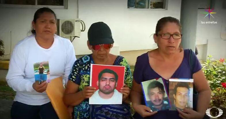 Madres y esposas de desaparecidos en Veracruz (Noticieros Televisa)
