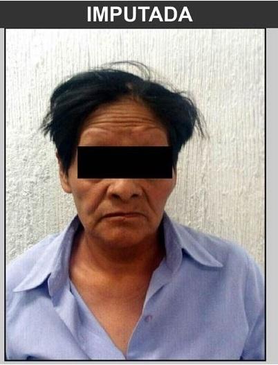 Una mujer de 54 años enfrenta cargos de privación ilegal de la libertad y lesiones contra su nieta de siete años. (PGJ-CDMX)