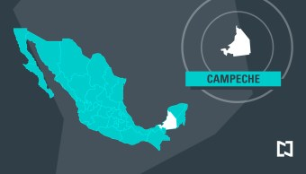 Mapa de Campeche - Marzo 2017 (Noticieros Televisa)