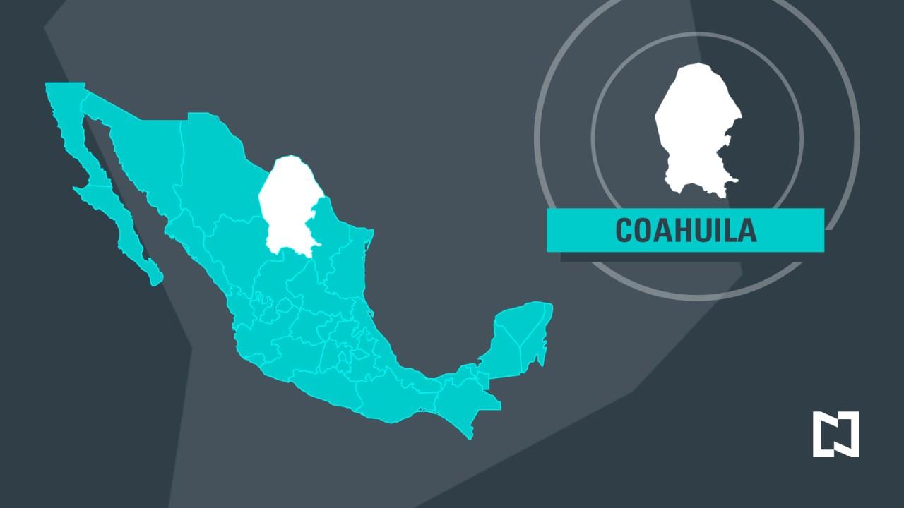 Mapa de Coahuila (Noticieros Televisa)