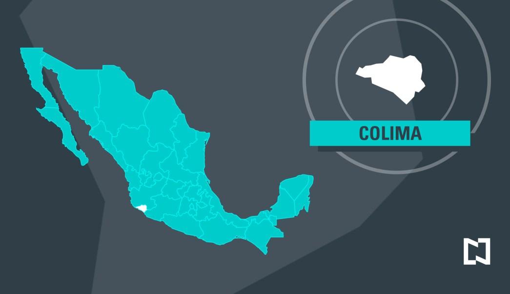 Mapa de Colima. (Noticieros Televisa)