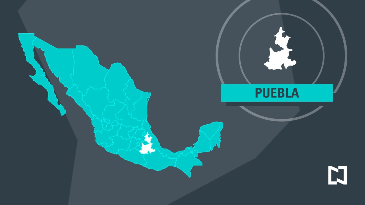 Imagen: Mapa de Puebla