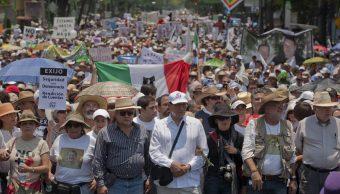 Marcha del Movimiento por la Paz.
