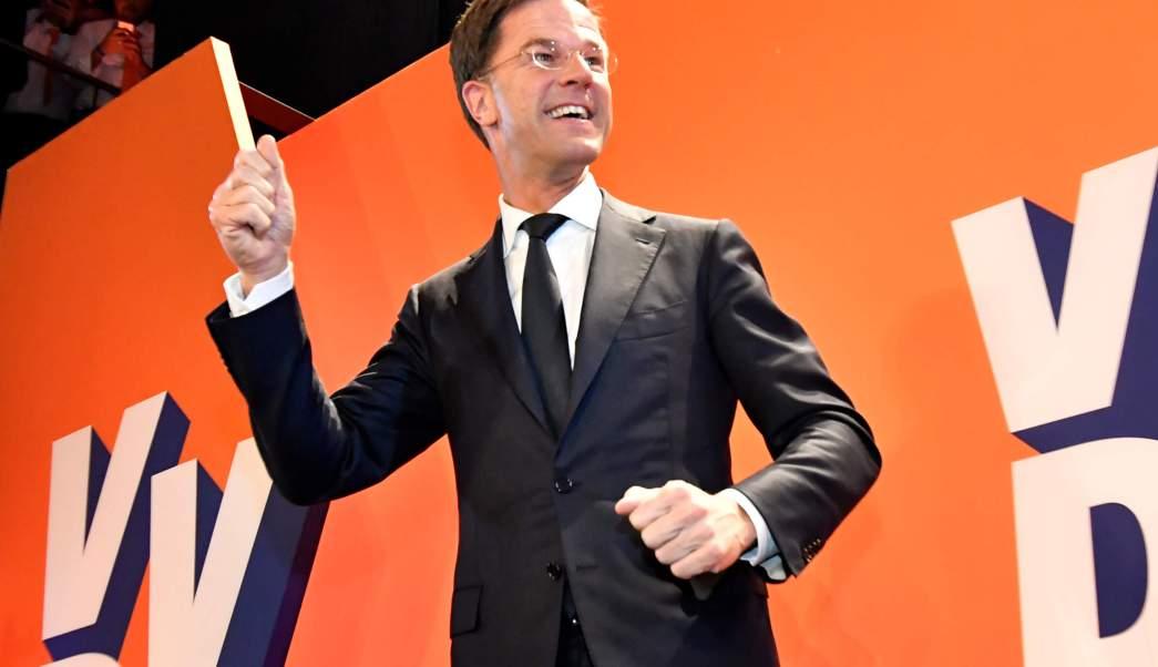 Mark Rutte, primer ministro de Holanda.