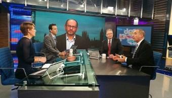 Mauricio Meschoulam y Vytas Rudavicius conversan sobre el ataque en Londres en la mesa de Despierta con Loret. (Twitter, @NTelevisa_com)