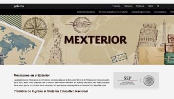 SEP orienta a connacionales para ingresar al Sistema Educativo Nacional