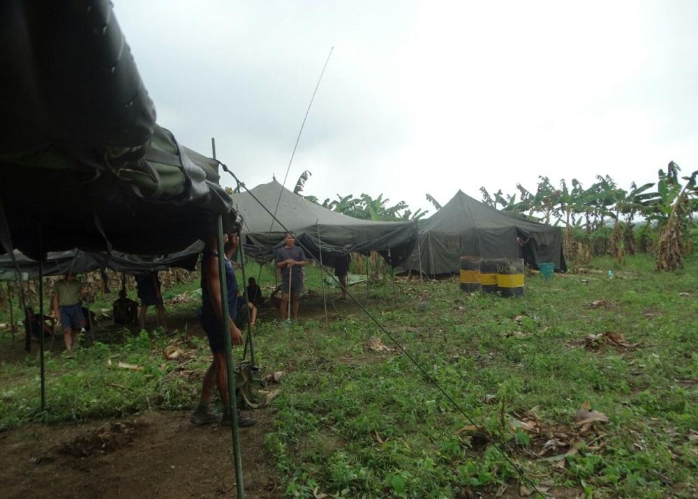 Resultado de imagen para militares venezolanos cruzan la frontera con colombia e instalan campamento en arauca