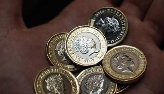 La nueva moneda de 1 libra. (Getty Images)