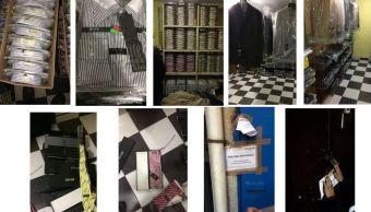 La PGR decomisa más de 12 mil artículos de lujo apócrifos. (@PGR_mx)
