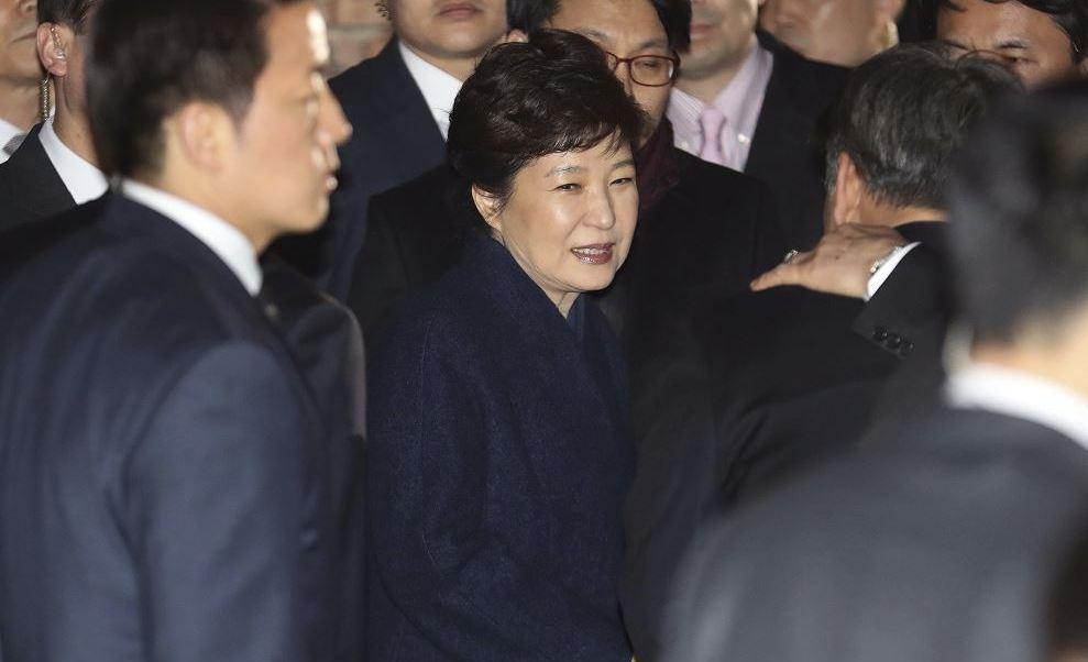 Park Geun-hye, expresidenta de Corea del Sur. (AP)