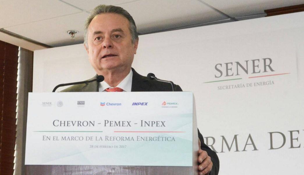 Pedro Joaquín Coldwell, secretario de Energía. (Notimex, archivo)