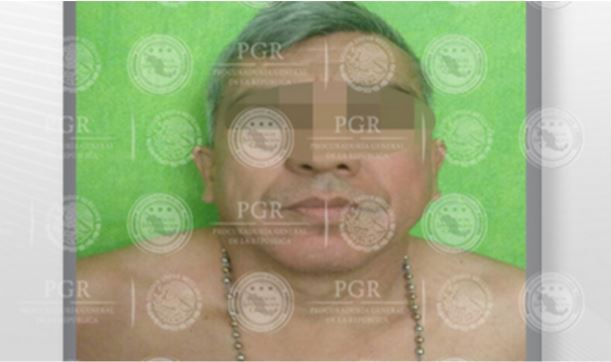 """La PGR captura a Guillermo """"N"""", en Amacuzac, Morelos, señalado como presunto responsable de las operaciones financieras y coordinación logística de un grupo delincuencial con presencia en el mismo municipio. (PGR)"""