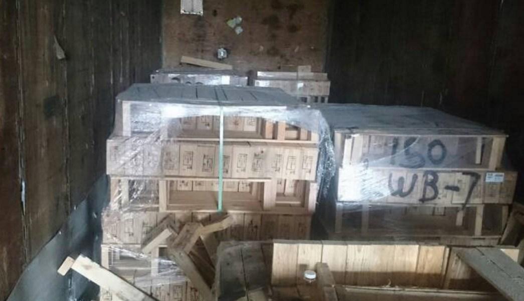 Profepa impide el ingreso al país de mil 500 piezas de madera de Estados Unidos en Matamoros, Tamaulipas.