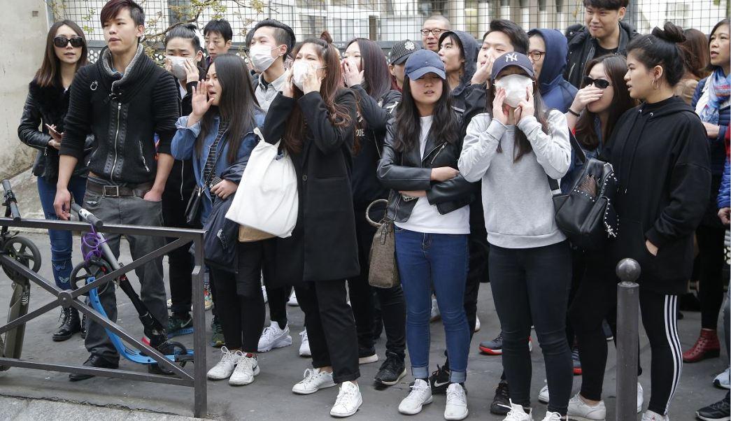 El asesinato de un chino a manos de la Policía parisina causa indignación en la comunidad asiática. (AP)