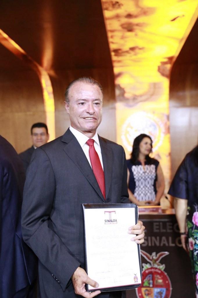 La administración de Quirino Ordaz Coppel, en Sinaloa, inició el 1 de enero de 2017. (Notimex)