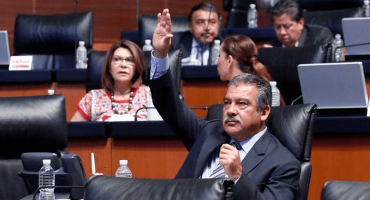 Raúl Morón, senador del PRD. (@raulmoronO)