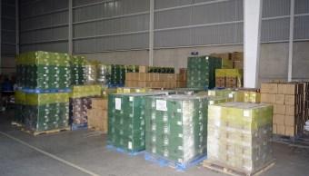 Recuperan en Toluca más de 80 mil botellas robadas (FGJEM)