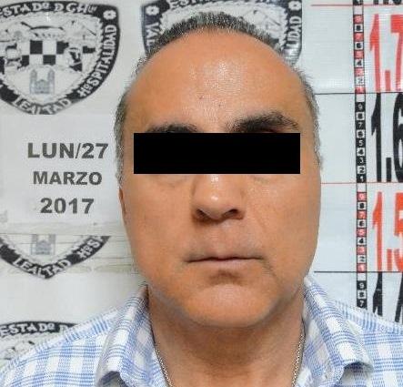 Ricardo Y. H., exsecretario de Educación de Chihuahua, es detenido por una acusación de desvío de recursos (Fiscalía General del estado de Chihuahua)