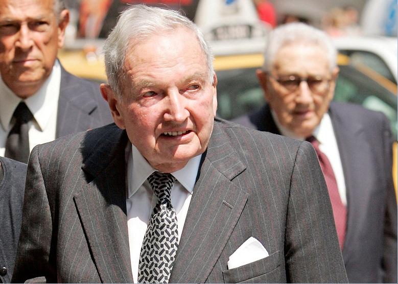 David Rockefeller acude al funeral del filántropo Brooke Astor en Nueva York en 2007 (Reuters, archivo)