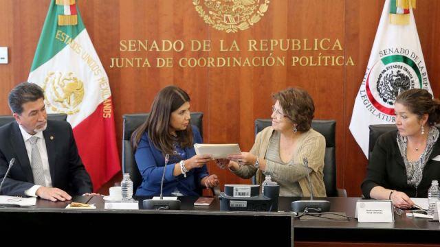 El nuevo fiscal anticorrupción fungirá en el cargo por los próximos 18 meses, hasta el 30 de noviembre de 2018 (Twitter/@senadomexicano)