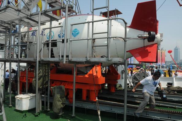 Sumergible chino Jiaolong alcanza una profundidad de 7 mil metros; el país asiático busca alcanzar los 11 mil metros con un nuevo vehículo (Getty Images, archivo)