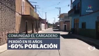 Habitantes de poblados de Guanajuato y Zacatecas que dependen de las remesas que reciben de sus familiares en Estados Unidos, temen que sus ingresos se reduzcan drásticamente ante la ola de deportaciones masivas. (Noticieros Televisa)