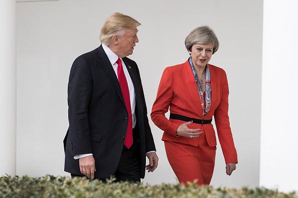 Primera ministra británica, Theresa May, presidente, Donald Trump, reunión ,Casa Blanca