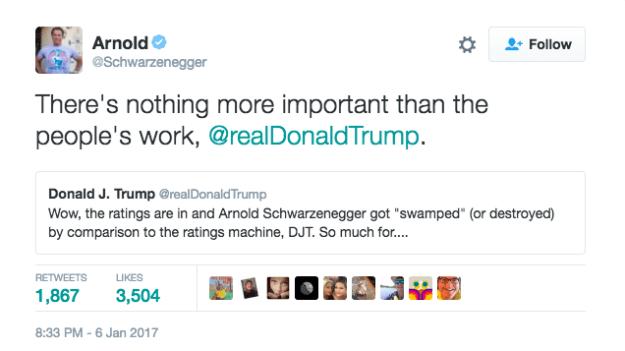 tweet trump Schwarzenegger 3