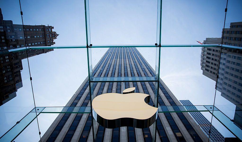 Una tienda de Apple en nueva York, Estados Unidos.