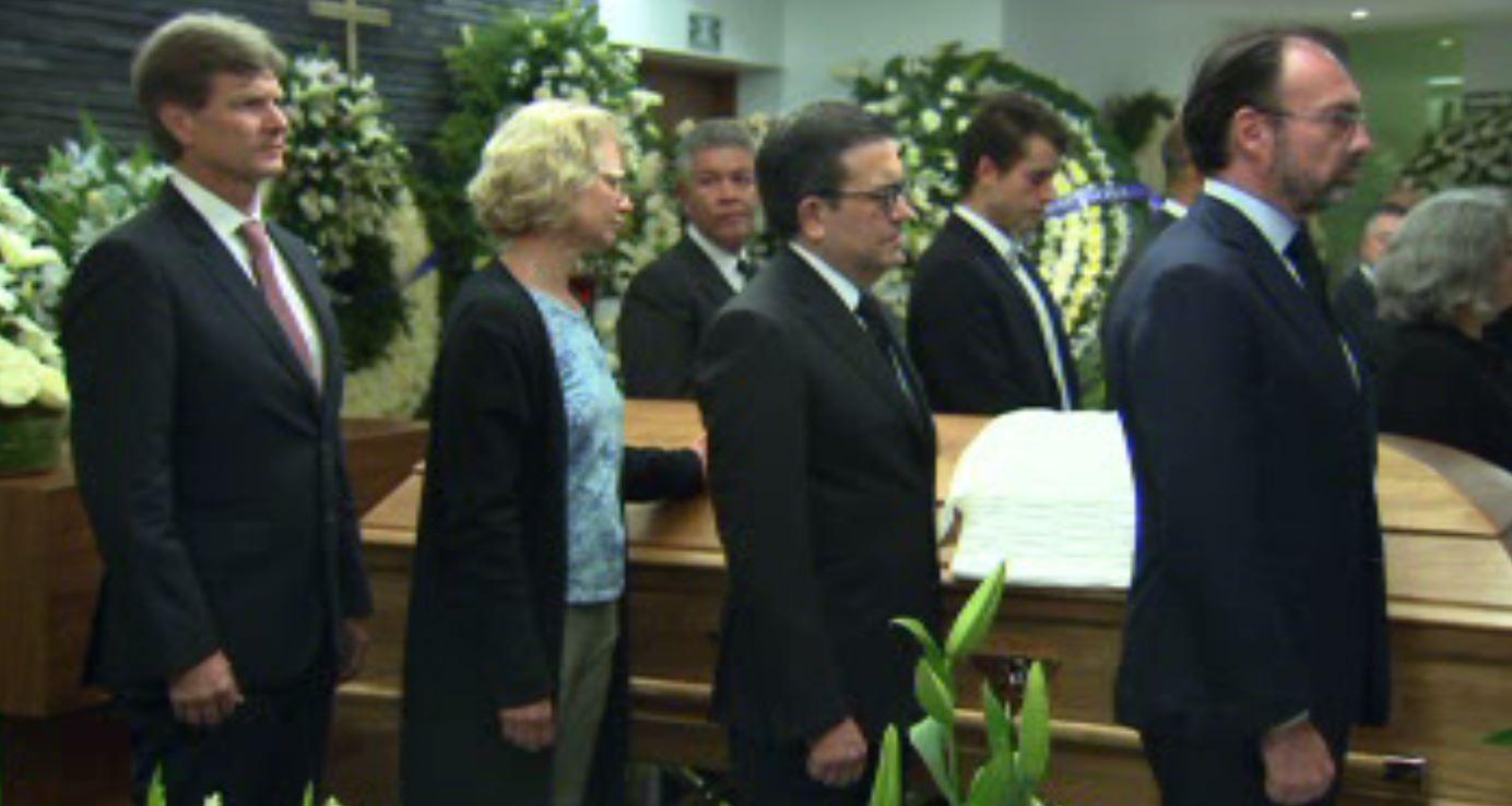 Velan a Jesús Silva-Herzog Flores en funeraria de la CDMX. (Noticieros Televisa)