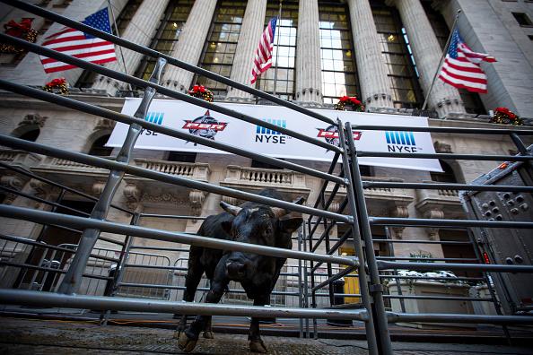 Fachada del piso de operaciones de Wall Street. (Getty Images)