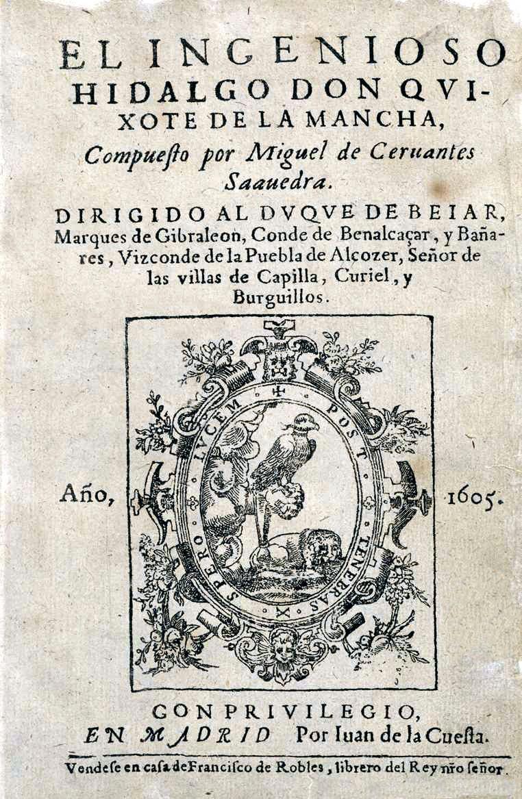 Cervantes y la política