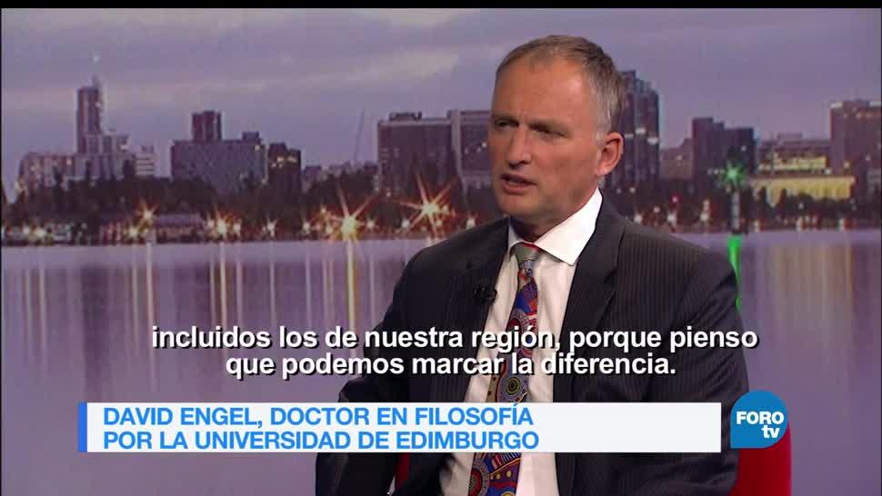 Genaro Lozano, Entrevista, David Engel, Foro Global, Internacionales, Australia,