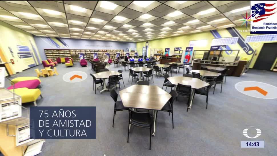 Biblioteca Benjamin Franklin, Mexico, Estados Unidos, Aniversario, Libros